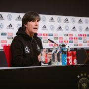 Jogi Löw während einer DFB-Pressekonferenz zur EM 2021. (Foto)