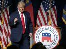 Es gibt offenbar einen Doppelgänger von Donald Trump. (Foto)