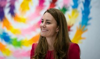 Prinzessin Kate, Herzogin von Cambridge, kann es kaum erwarten, die Tochter von Prinz Harry und Meghan markle kennenzulernen. (Foto)