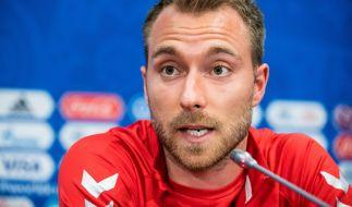 Christian Eriksen war beim EM-Spiel gegen Finnland zusammengebrochen. (Foto)