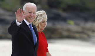 Joe Biden und Frau Jill Biden. (Foto)