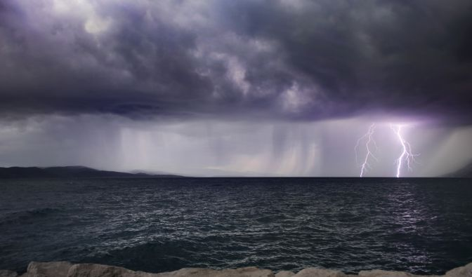 Tödlicher Blitzschlag