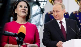 Putin will mit einer Propaganda-Kampagne offenbar Annalena Baerbock verhindern. (Foto)