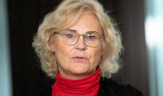 Bundesjustizministerin Christine Lambrecht setzt sich für Kinder und gegen Rechtsextremismus ein. (Foto)