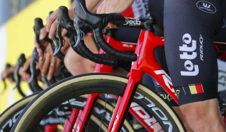 Die Tour de France 2021 beginnt am 26. Juni und endet mit dem Zieleinlauf auf der Champs-Élysées in Paris am 18. Juli. (Foto)