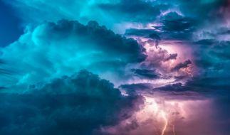 Wetterdienst warnt vor schwerer Gewitterlage am Sonntag. (Foto)
