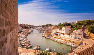 Eine Rissaga traf die HafenstadtCiutadella auf Menorca. (Foto)