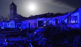 Der Tornado hat in Tschechien eine Spur der Verwüstung hinterlassen. (Foto)