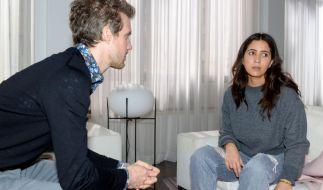 Nach Lauras (Chryssanthi Kavazi) Verlust des Babys ist Felix (Thaddäus Meilinger) mit der Situation ziemlich überfordert. (Foto)