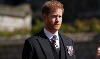 Prinz Harry ist allein zurück in London. (Foto)