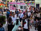 Innerhalb weniger Wochen gab es bei einer Schießerei auf dem Times Square in New York erneut verletzte Passanten. (Foto)