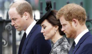 Prinz William und Kate Middleton werden die Diana-Statue ohne Prinz Harry besuchen. (Foto)