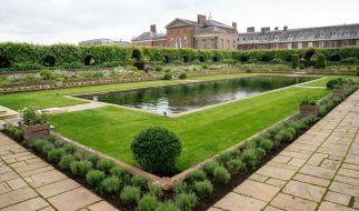 Zum 60. Geburtstag der 1997 gestorbenen Prinzessin Diana am 01.07.2021 wollen ihre Söhne William und Harry im Sunken Garden eine Statue im Andenken an ihre Mutter enthüllen. (Foto)