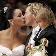 San Diego Pooth bei der Hochzeit von Franjo und Verona Pooth im Jahr 2005.