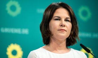 Annalena Baerbock hat sich erstmals zu den Plagiatsvorwürfen zu Wort gemeldet. (Foto)