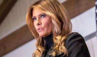 Melania Trump war beim Auftritt ihres Mannes Donald nicht zu sehen. (Foto)