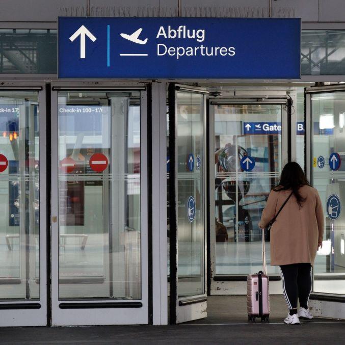 Messerattacke am Flughafen! 1 Verletzter, Täter flüchtig (Foto)