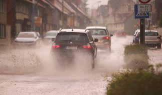 Meteorologen prophezeien sintflutartige Regenfälle. (Foto)