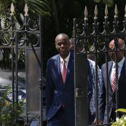 Staatspräsident von Haiti kaltblütig erschossen (Foto)
