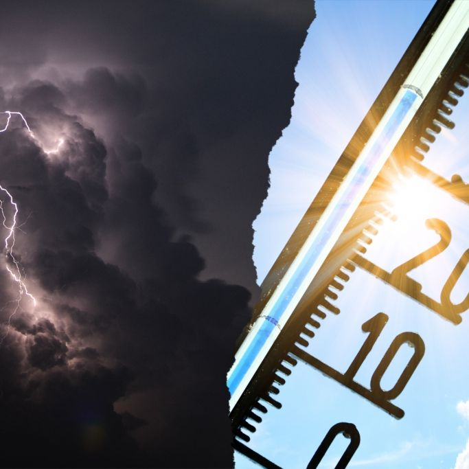 Hitzewelle oder Sturzflut-Regen? So geht der Schaukelsommer weiter (Foto)