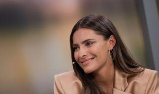 Sophia Thomalla feierte den EM-Sieg der Italiener in Rom. (Foto)