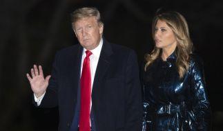 Auf eine Siegesfeier ihres Mannes hatte Melania Trump gar keinen Bock. (Foto)