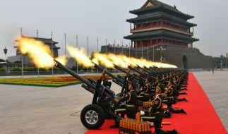 China hat wieder einmal eine ernste Drohung in Richtung Japan ausgesprochen. (Foto)
