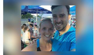 Handballer Patrick Groetzki und seine Frau Jenny sind Eltern von Zwillingen. (Foto)