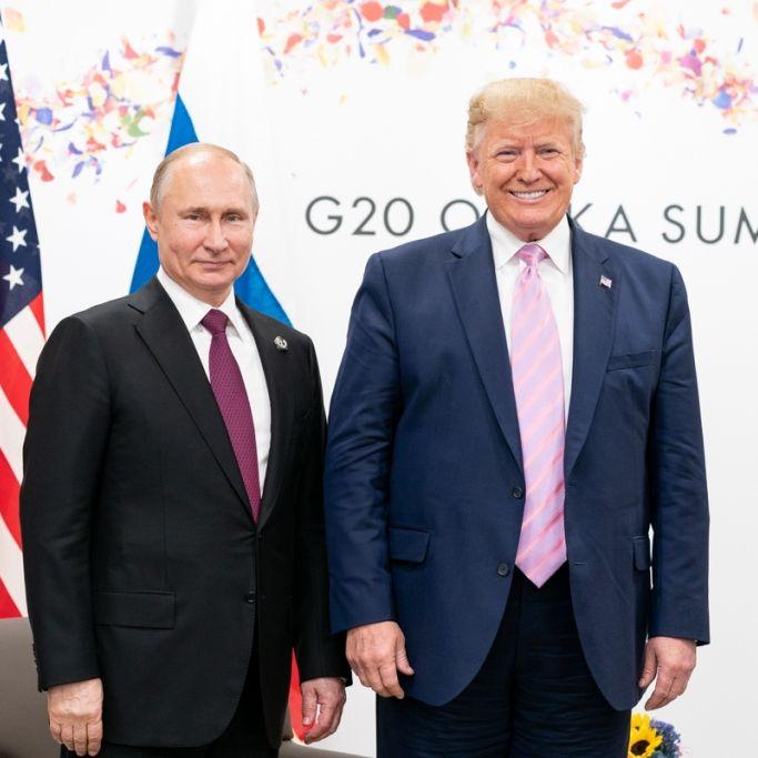 """Kreml-Papier enthüllt: Putin unterstützte """"geistig instabilen"""" Trump bei Wahl 2016 (Foto)"""