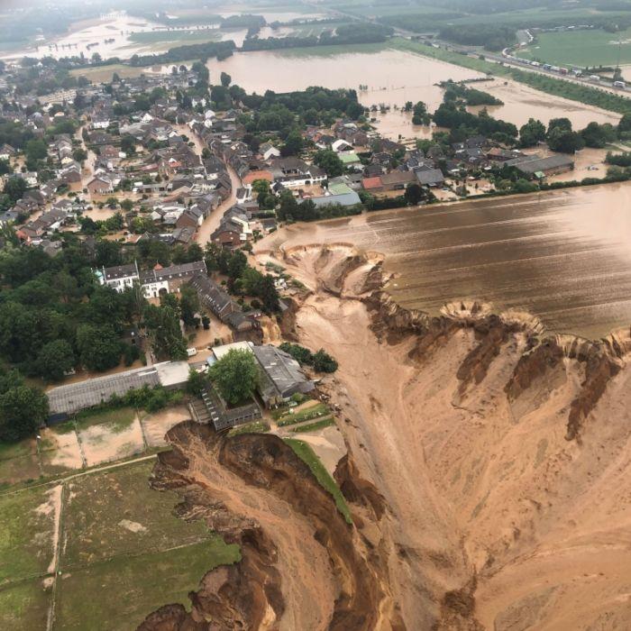 Trotz Flut-Warnungen! Hat der Katastrophenschutz zu spät reagiert? (Foto)