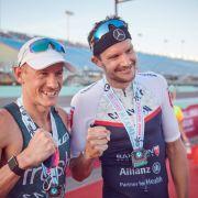 Jan Frodeno stürmt im Dauerregen zur Triathlon-Weltbestzeit (Foto)