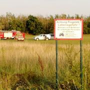 Kleinflugzeug abgestürzt - 4 Menschen gestorben (Foto)