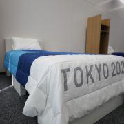 Anti-Sex-Betten bei Olympia? Sport-Star macht bizarren Test (Foto)