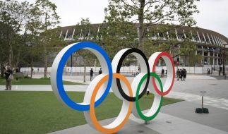 Die Olympischen Spiele wurden aufgrund der Pandemie um ein Jahr verschoben. (Foto)