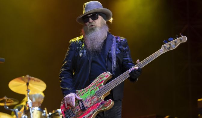 Dusty Hill, Bassist von ZZ Top (19.05.1949 - 28.07.2021) (Foto)