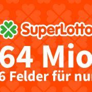 Am Donnerstag liegen rekordverdächtige 64 Millionen Euro im Superlotto-Jackpot. (Foto)