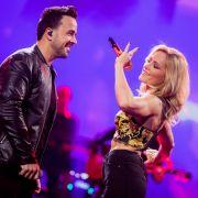 Schlagerkönigin Helene Fischer hat sich Luis Fonsi als Duettpartner geschnappt - der Latinpop-Star steht ihr in Sachen Erfolg in nichts nach. (Foto)