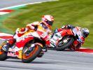 Die Piloten der MotoGP, Moto2 und Moto3 sind an zwei Wochenenden nacheinander in Spielberg gefordert, wenn nach dem Großen Preis der Steiermark um den Großen Preis von Österreich gefahren wird. (Foto)