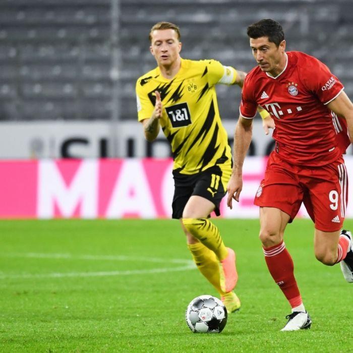 Doppelpack von Lewandowski! Bayern gewinnt gegen Dortmund (Foto)