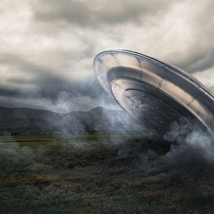 Verschwörungstheoretiker sicher! DIESES Bild zeigt ein abgestürztes Ufo (Foto)