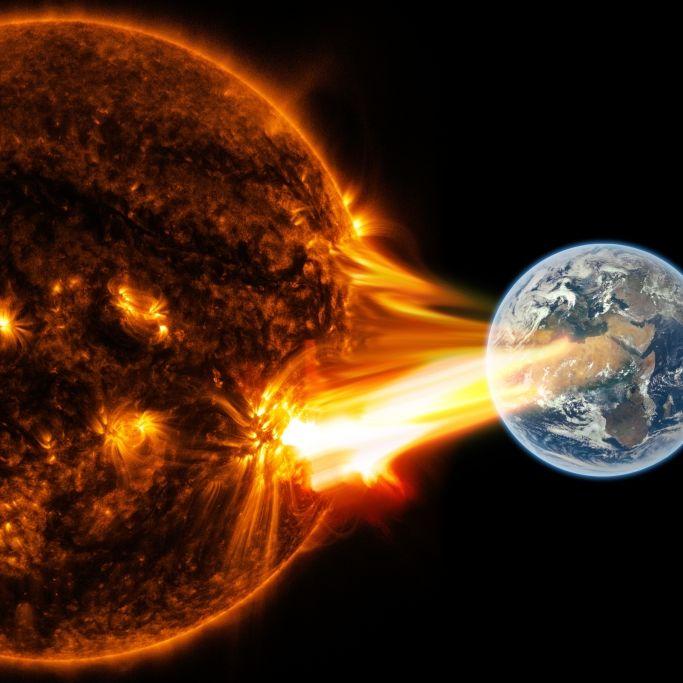 Gefahr für die Erde! Wissenschaftler warnen vor Mega-Sonneneruption (Foto)