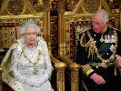 Noch sitzt Queen Elizabeth II. auf dem Thron und lässt ihren Thronfolger Charles weiter schmoren - in der Phantasie von Musical-Autoren sieht das Royals-Leben allerdings ganz anders aus. (Foto)