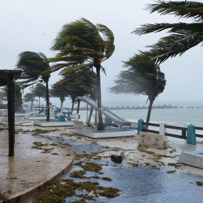 """8 Todesopfer! Tropensturm """"Grace"""" verwüstet Ferienparadies (Foto)"""
