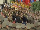 Frisch erschlankt und bester Laune: So zeigte sich Nordkoreas Machthaber Kim Jong Un im Juli 2021 in der Öffentlichkeit. (Foto)