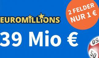 EuroMillions-Ziehung, 17.09.2021