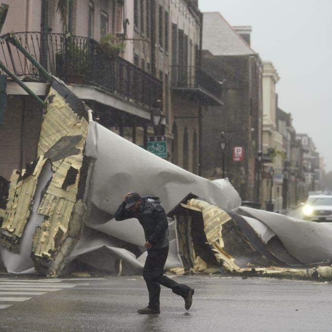Hunderttausende nach Monster-Sturm ohne Strom - erste Todesopfer (Foto)