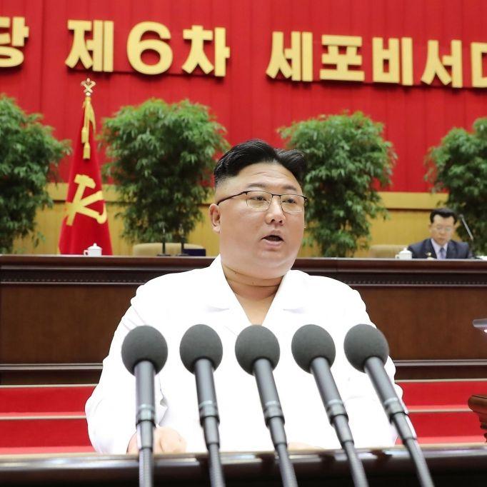Erschlankter Sonnyboy! Nordkorea-Machthaber nicht wiederzuerkennen (Foto)