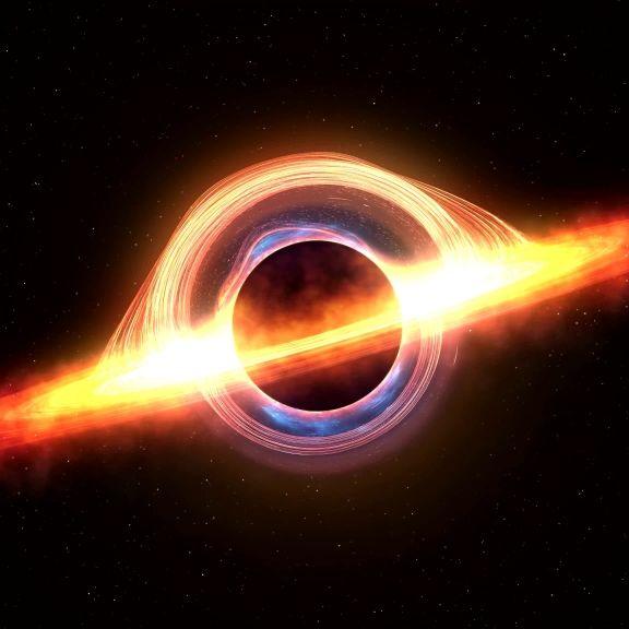 Forscher überzeugt: Außerirdische ziehen Energie aus Schwarzen Löchern (Foto)