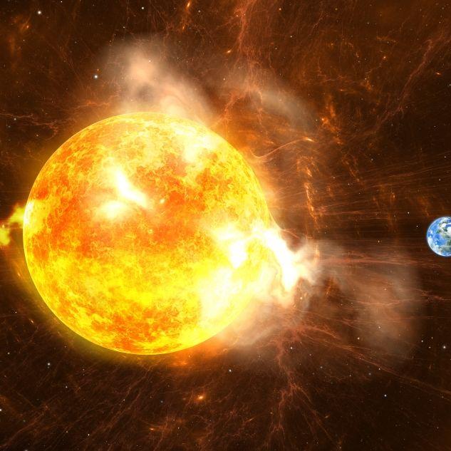Experten warnen vor doppelter Sonneneruption (Foto)