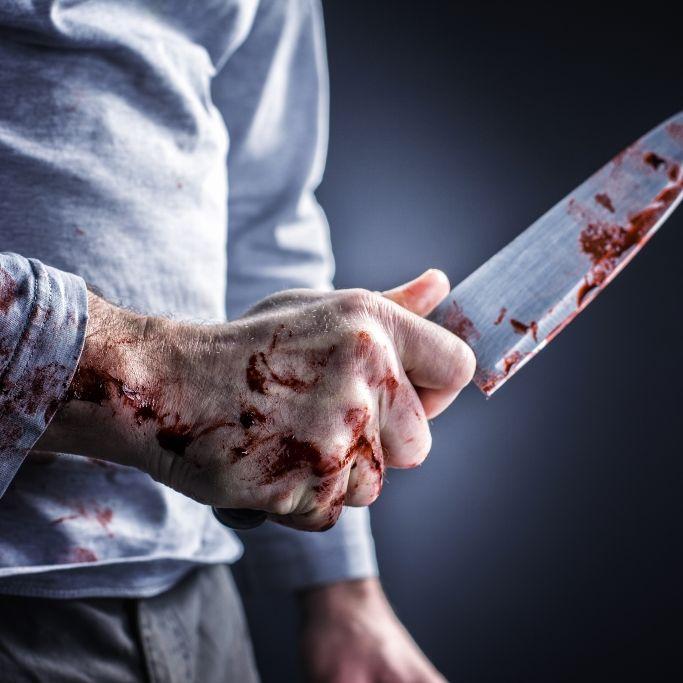 Messer-Mann sticht Supermarkt-Kunden nieder - Täter erschossen (Foto)